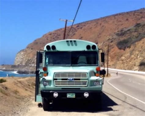 Best School Bus Motorhome Makeover: You Need to See This