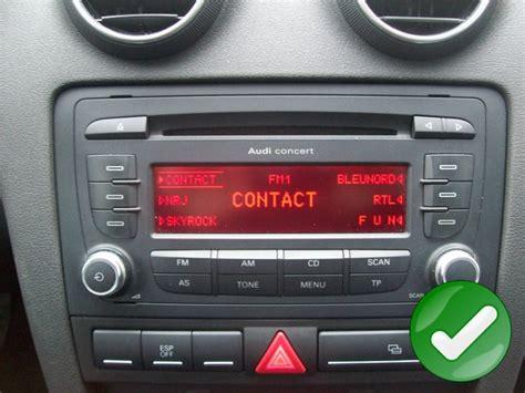 poste audi  autoradio gps anroid audi bluetooth