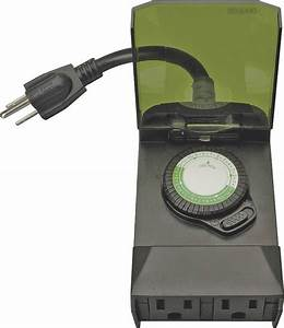 Coleman Cable Outdoor Photocell Digital Timer Instructions
