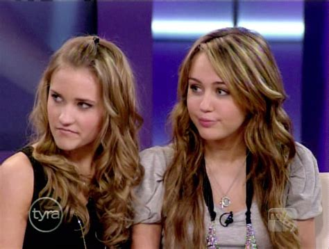 emily osment and miley miley and emily tyra banks insert something poetic and