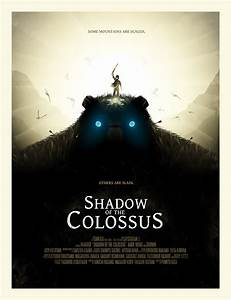 I Made This Shadow Of The Colossus Poster After Playing It