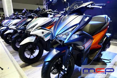 Yamaha Mio Aerox S Launched In The Philippines