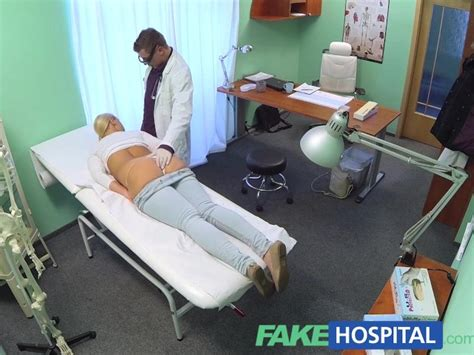fakehospital blonde with big tits wants to be a nurse free porn videos youporn