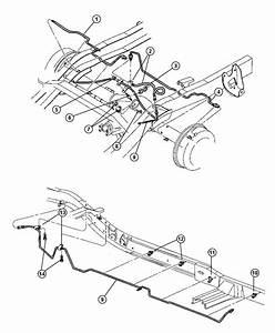 1999 Dodge Dakota Tube  Brake  Right    Corporate 8 25
