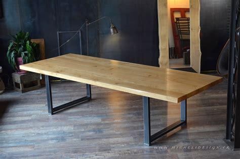 Table De Style Industriel  Micheli Design