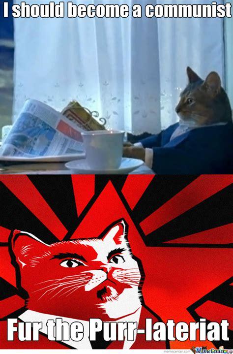 Communist Meme - communist cat by consuljordan meme center