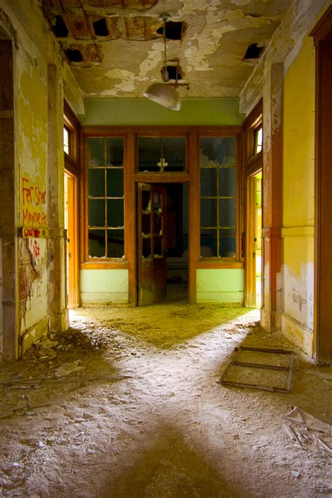creepy   abandoned orphanage