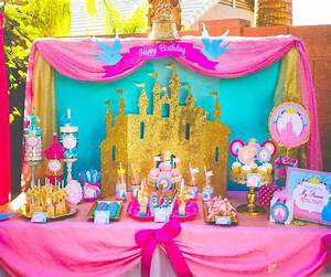 PINK PRINCESS Party SIGNS Girls Birthday Party Pink