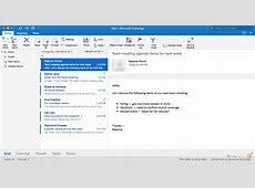 Переработка Outlook для всех платформ папка входящих