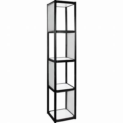 Display Cabinet Portable Shelves Twist