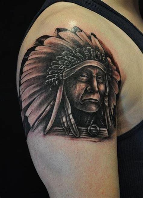 indian chief tattoos  designs ideas