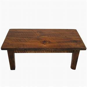 buy a custom rough sawn pine rustic style coffee table With rustic looking coffee tables