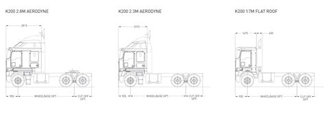 single level floor plans kenworth k200 southpac trucks