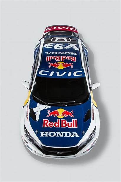 Civic Honda Bull Race Racing Livery Coupe