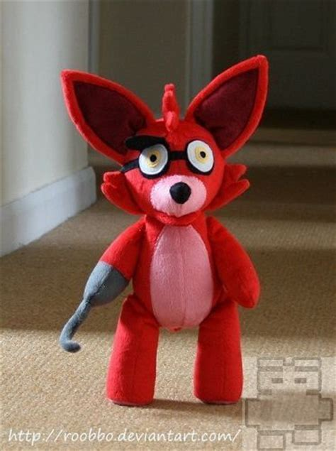 nights  freddys foxy plush  roobbo  etsy