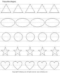tracing patterns  images preschool