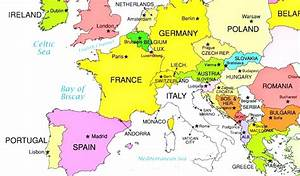Europe Map Countries And Map Of Europe Countries And ...