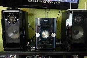 Salida Audio Minicomponente Panasonic  U3010 Ofertas Septiembre