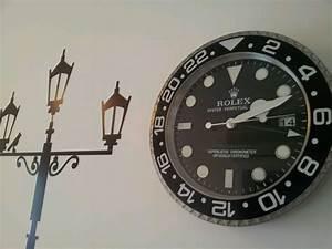 Rolex wall clocks that should be mine for Rolex wall clocks uk