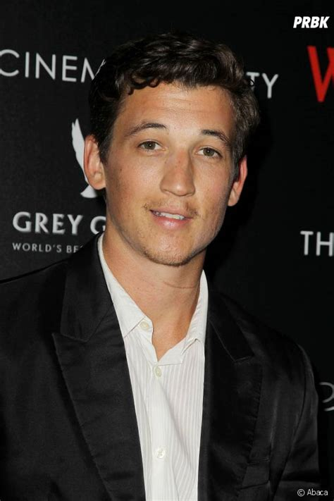 Fantastic four actor miles teller has officially been cast as goose's son in the upcoming top gun sequel, top gun: Miles Teller (Divergente) : avant/après, son incroyable ...