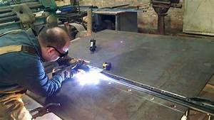Homemade Plasma Cutter Track 11ft Long