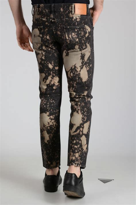 gucci cm bleached denim jeans men glamood outlet