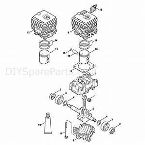 Stihl Br 200 Backpack Blower  Br 200  Parts Diagram  A