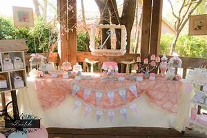 Tea Party Girls Birthday Party Shabby Chic by