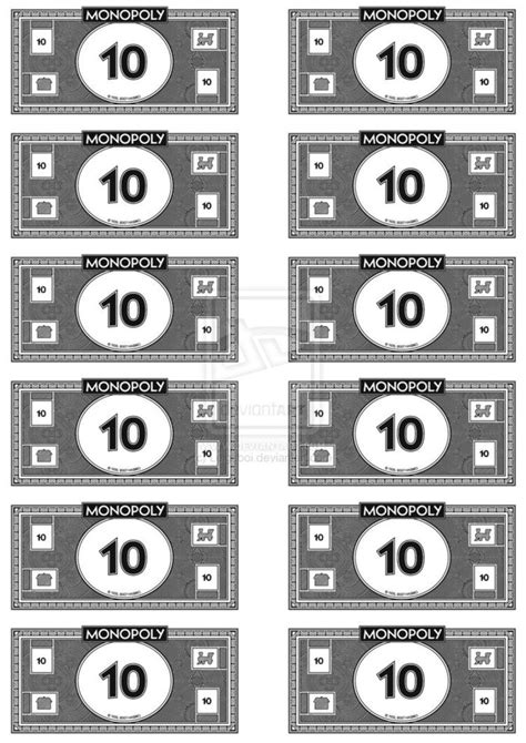 image result  monopoly money money template monopoly