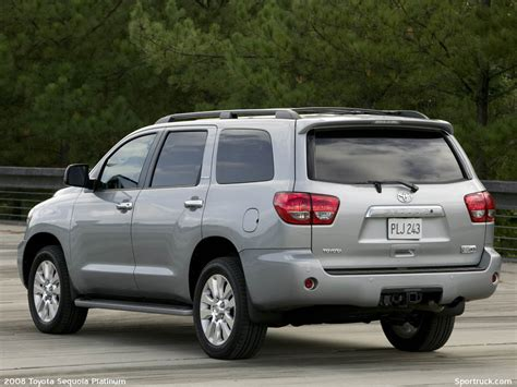 2008 Toyota Sequoia Pictures And Information Sportruckcom
