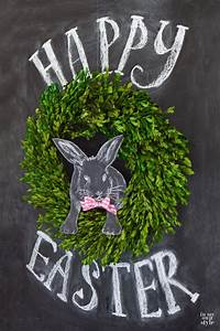 3D Easter Chalkboard Art In My Own Style
