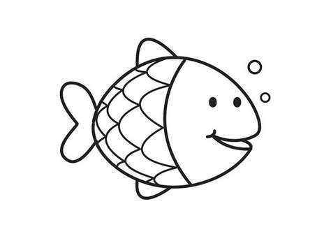 Luxury Fish Colouring Picture Coloring Pages For Kids