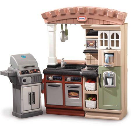 tikes kitchen with grill fast track grillin grand kitchen walmart