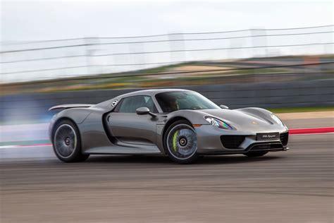 Porche Supercar by Porsche Just Produced Its Last 918 Spyder Hybrid Supercar