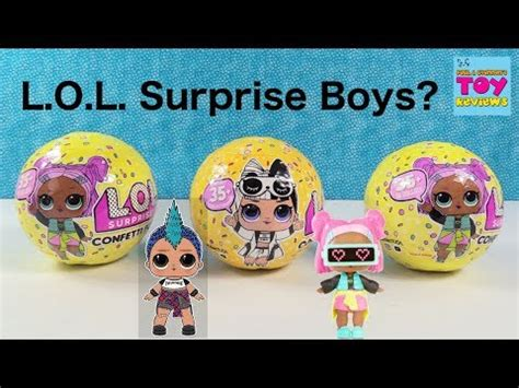 lol surprise doll confetti pop series  wave  toy review