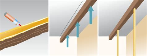 poser des fausses poutres plafond