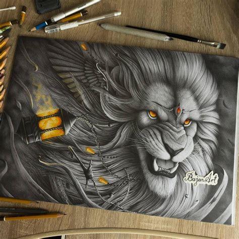 animal drawing  lukasz andrzejczak full image