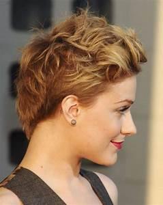 Coloration Cheveux Court : faites ressortir votre douceur et force f minine en osant la coupe courte effil e obsigen ~ Melissatoandfro.com Idées de Décoration
