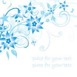 stichwrter einfache blau handbemalt blumen muster designs hintergrnde leere textfelder - Blumen Design