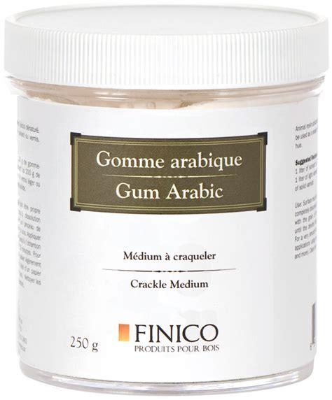 gomme arabique cuisine gomme arabique finico produits pour bois