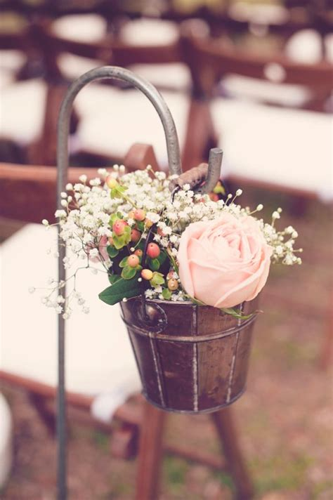 charming inexpensive country tin  wedding ideas