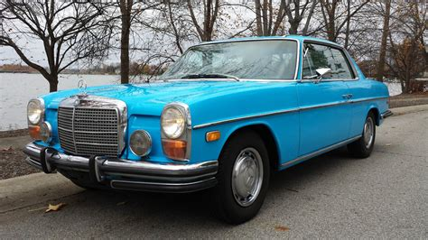 The history file accompanying this car comes complete with servicing and. 1972 Mercedes Benz 250C, W114 Classic Pilarless Coupe, Beautiful Car, Must See! - Classic ...
