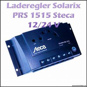 Photovoltaik Leistung Berechnen : steca solar laderegler 12v 24v 15a solarix prs 1515 f r ~ Themetempest.com Abrechnung