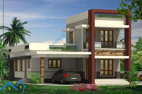 Contemporary Homes Kerala Pictures Gallery New Trendy 4bhk