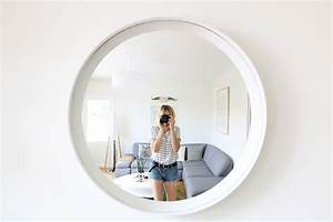 Miroir Rond à Suspendre : diy miroir rond design pas cher blog diy mode lyon artlex ~ Teatrodelosmanantiales.com Idées de Décoration