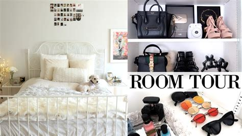 My Room Tour 2017  White & Modern Youtube