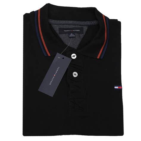 tommy hilfiger polo shirt sbp black