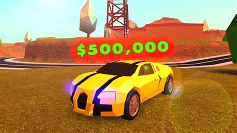 Buying The New $500,000 Car (roblox Jailbreak) Doovi