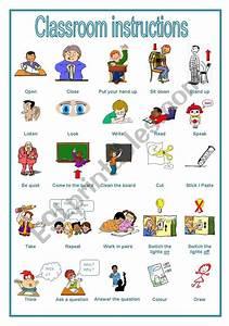 Classroom Instructions  A Handout  Editable