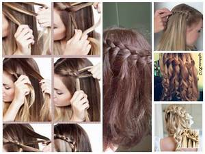 Coiffure Tresse Facile Cheveux Mi Long : coiffure simple et rapide a adopter blog de ~ Melissatoandfro.com Idées de Décoration
